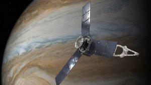 La NASA envió una nave espacial a Júpiter y recibió increíbles imágenes 7 años después