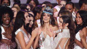 Vanessa Ponce la primera mexicana en ganar la corona de Miss Mundo 2018
