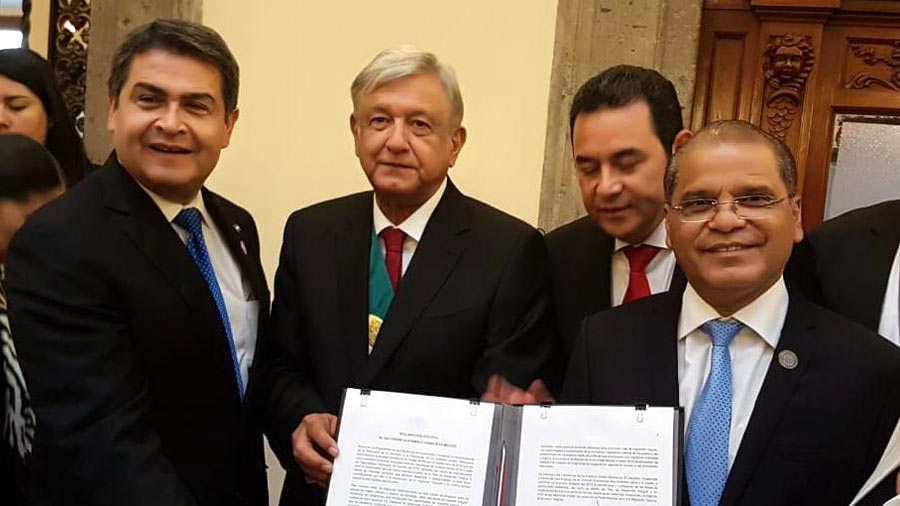México y Centroamérica crean plan de desarrollo para combatir migración