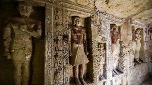 Sorprendente hallazgo de una tumba de más de 4,500 años en Egipto
