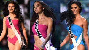 Ellas son las 5 favoritas que aspiran a la corona de Miss Universo 2018