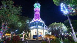 La alegría y el colorido de la navidad se vive en los municipios de San Vicente