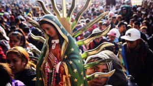 Más de diez millones de feligreses peregrinan a la Basílica de Guadalupe en México