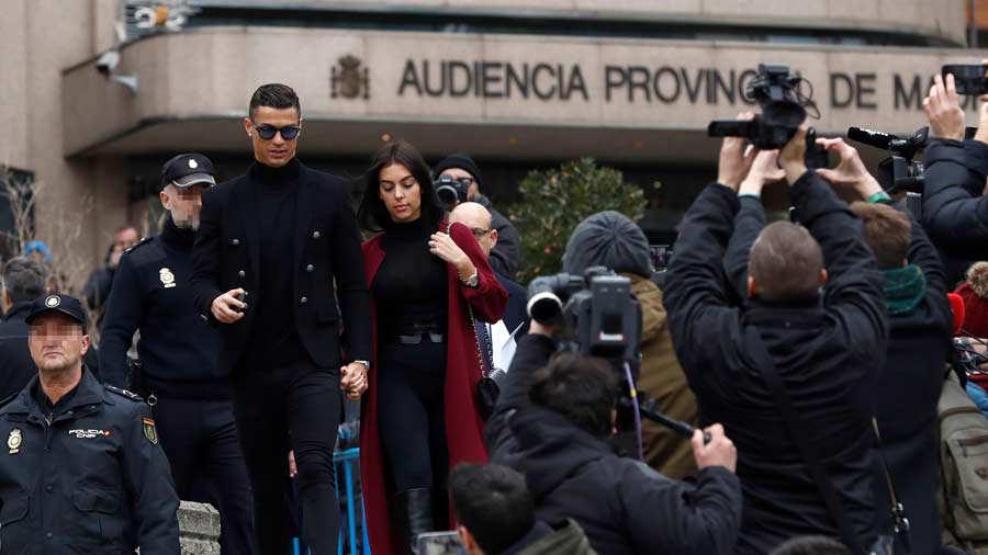 Cristiano Ronaldo es juzgado este martes por fraude fiscal