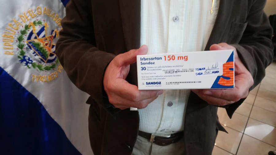 Medicina para la presión arterial en las noticias