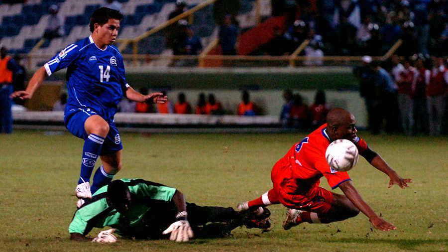 2-6-2019 - Amistoso El Salvador 1 Haiti 0. Rodolfo-Zelaya-02