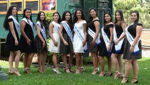 Ellas son las candidatas a soberana del municipio de La Reina en Chalatenango