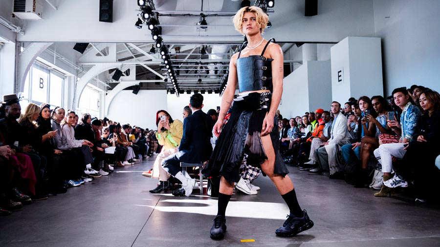 Desfile modas trans