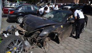 A cinco años del accidente del Ferrari en el Masferrer, ¿quién era el pasajero incógnito?