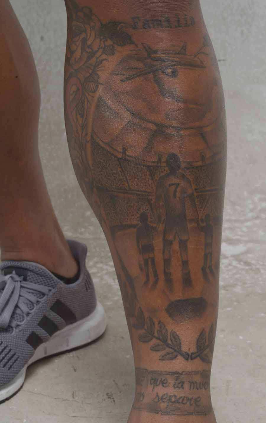 El significado de los tatuajes de algunas personalidades del deporte |  Noticias de El Salvador - elsalvador.com