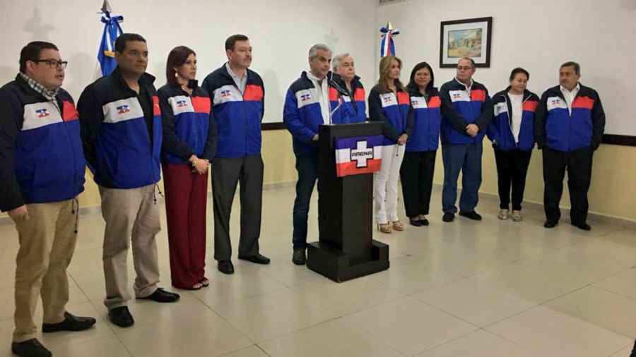 ARENA anuncia cambios drásticos y elección de un nuevo COENA