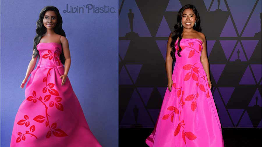 Yalitza Aparicio ya tiene su propia versión como muñequita al estilo Barbie