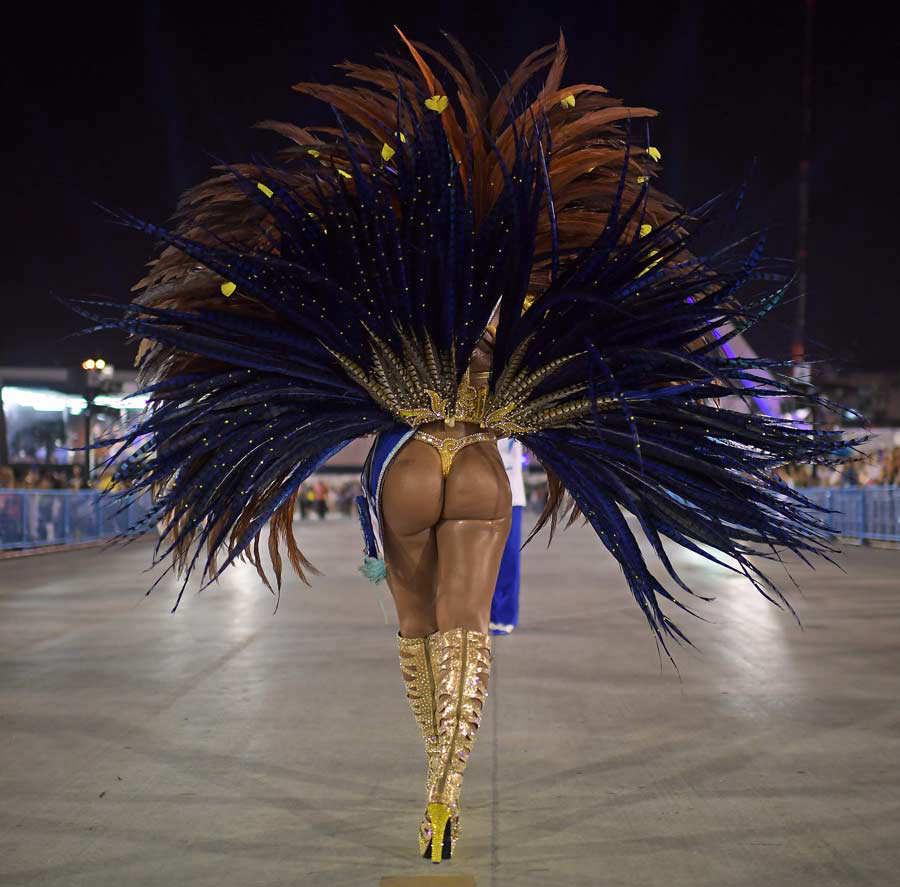 Desfiles se despiden con críticas políticas — Carnaval de Río