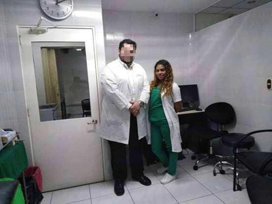 Desaparecida enfermera