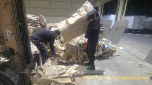 Policía incauta cocaína valorada en más de un millón de dólares que era transportada en un furgón