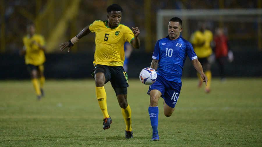 Liga de Naciones CONCACAF 2018-19: El Salvador 2 Jamaica 0. El-Salvador-Jamaica-2