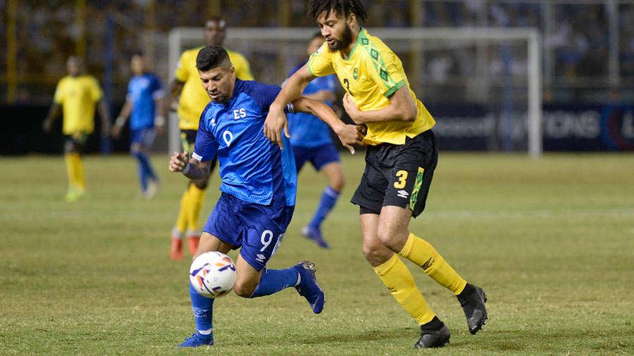 Liga de Naciones CONCACAF 2018-19: El Salvador 2 Jamaica 0. El-Salvador-Jamaica-5