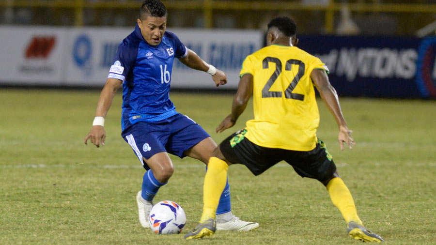 Liga de Naciones CONCACAF 2018-19: El Salvador 2 Jamaica 0. El-Salvador-Jamaica-8