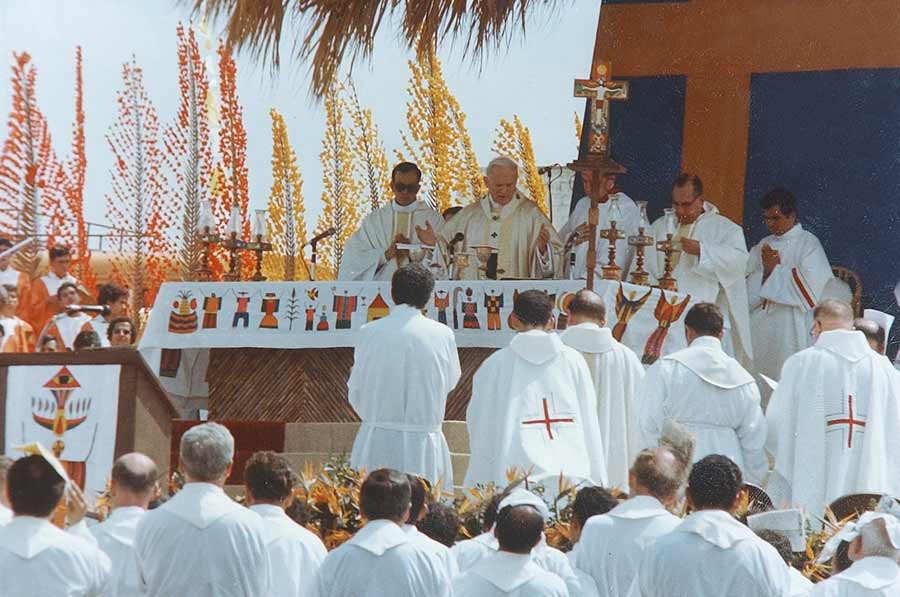 Visita de Juan Pablo II