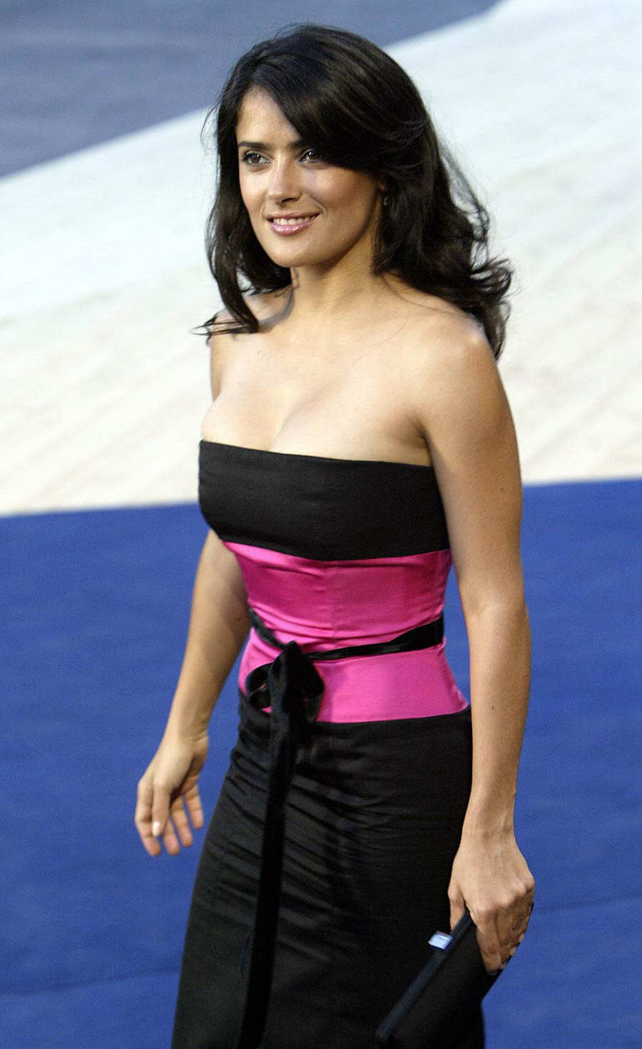 Mexican actress Salma Hayek, starring in director Robert Rodriguez not competition movie