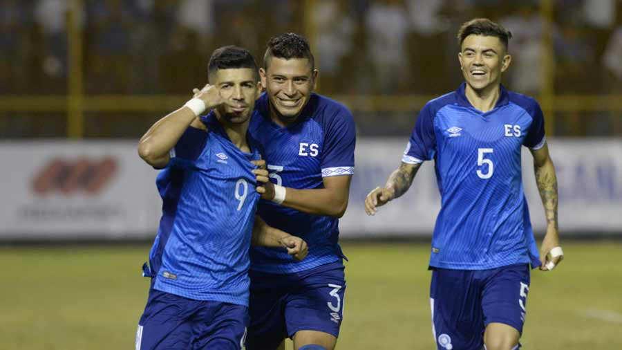 Liga de Naciones CONCACAF 2018-19: El Salvador 2 Jamaica 0. Selecta-Jamaica_021