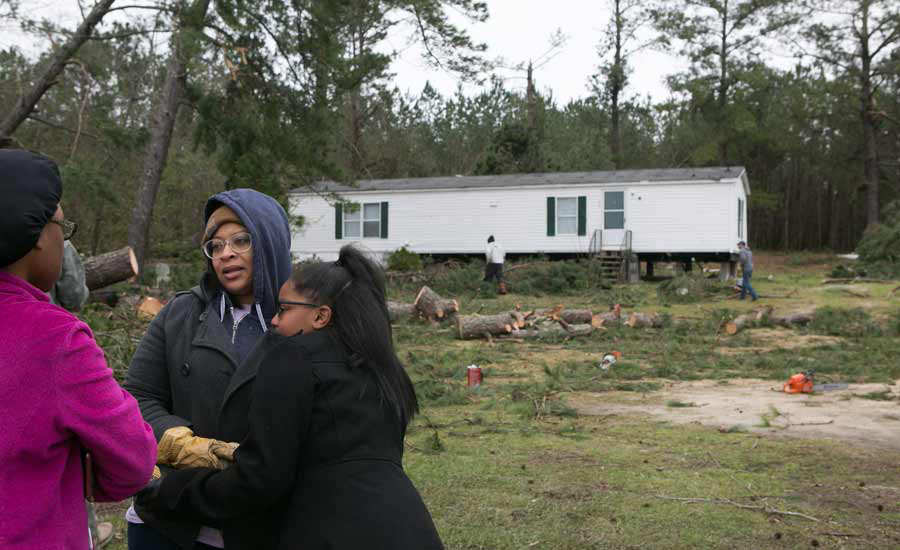 Deadly Storms And Tornadoes Sweep Across Southeast Causing Widespread Damage