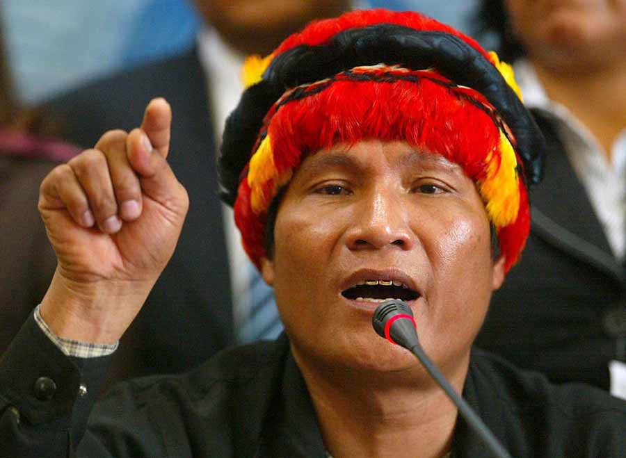 PERU-POLITICS-NATIVES-PIZANGO