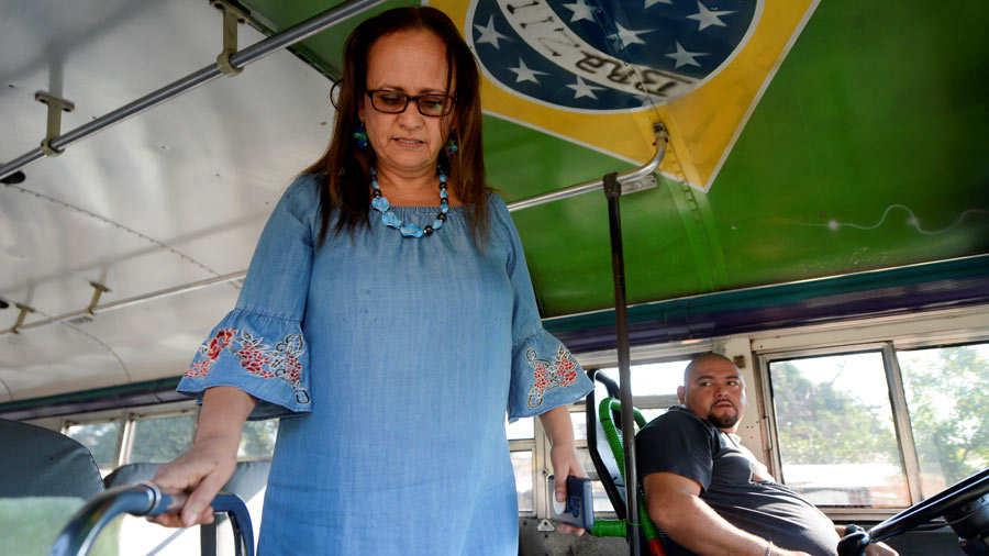 Blanca Estela García de Chavez de 59 años, quien es cinta azul con grado.