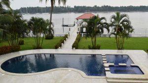 Así es el lujoso rancho en la playa Costa del Sol que le fue incautado al expresidente Mauricio Funes