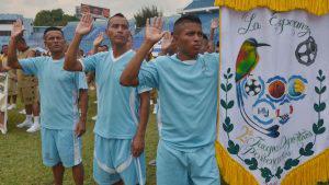 Reos integrantes del programa Yo Cambio participan en la segunda edición de los Juegos Penitenciarios