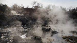 El paraíso de aguas termales y curativas del río Torola