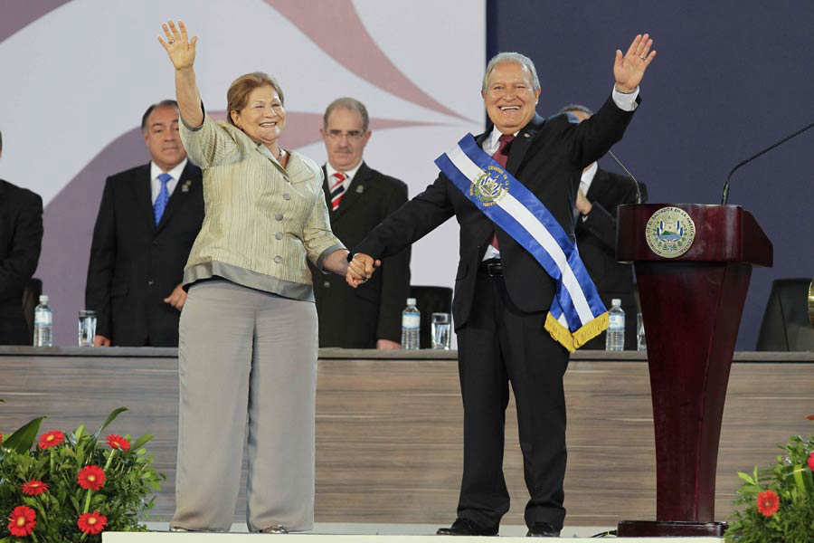 EL SALVADOR INVESTIDURA