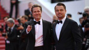 El gran regreso de Brad Pitt a la alfombra roja junto a Leonardo DiCaprio