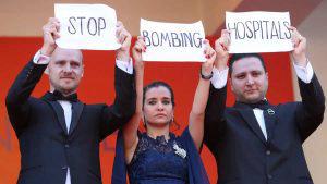 Protestas del gremio de cineastas se mezclan con el glamour y el talento en la 72º entrega del Festival de Cannes
