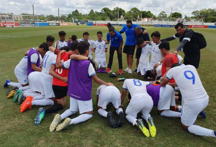 Sub17 Campeonato CONCACAF 2019 [Copa Mundo Brasil 2019] El Salvador 2 Jamaica 1. Captura4