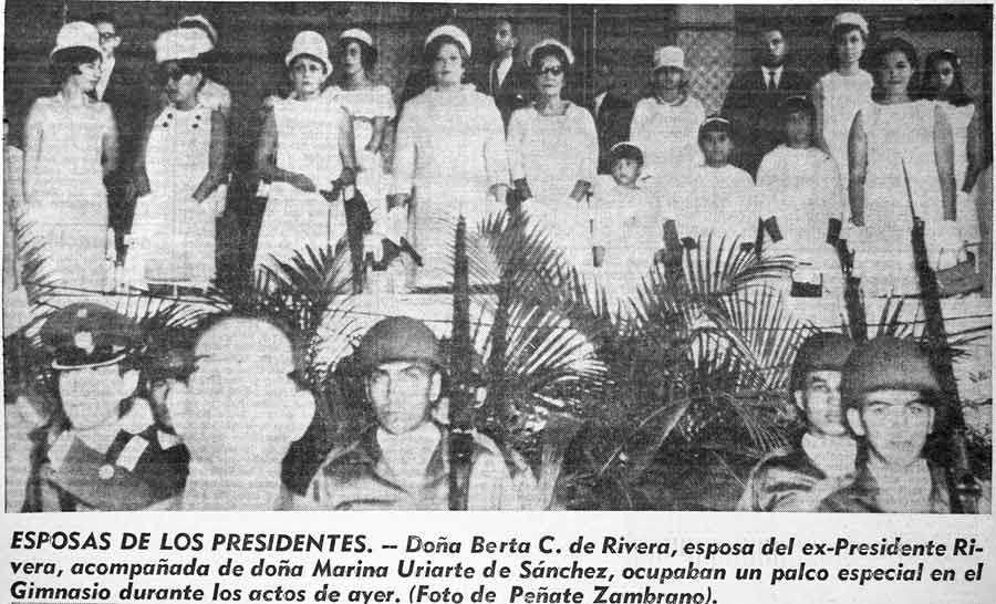 1967. Fidel Sánchez Hernández