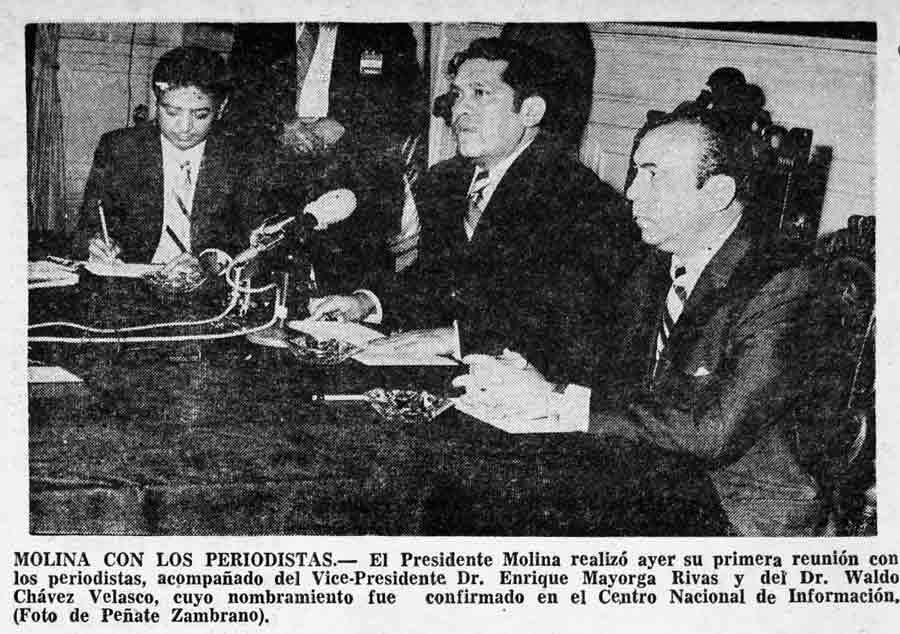 1972. Arturo Armando Molina