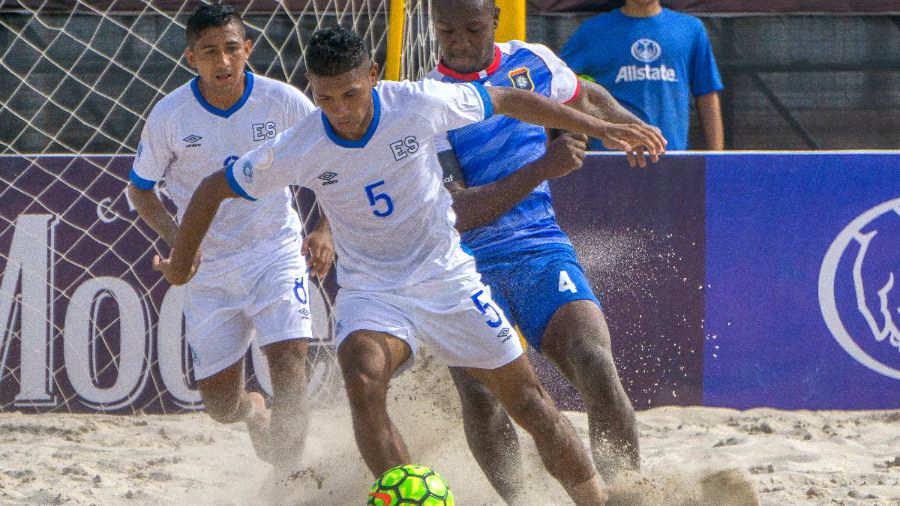 CONCACAF Campeonato de futbol playa 2019 - Juegos en el Grupo D. El-Salvador-Belice-Premundial-Concacaf-2019-02