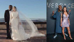 10 fotos para celebrar los 5 años de casados de Kim Kardashian y Kanye West