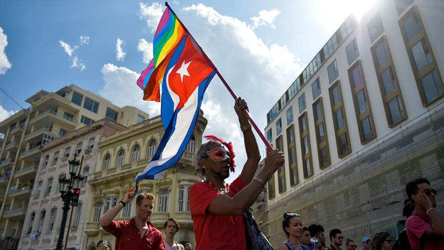 Marcha Gay en Cuba