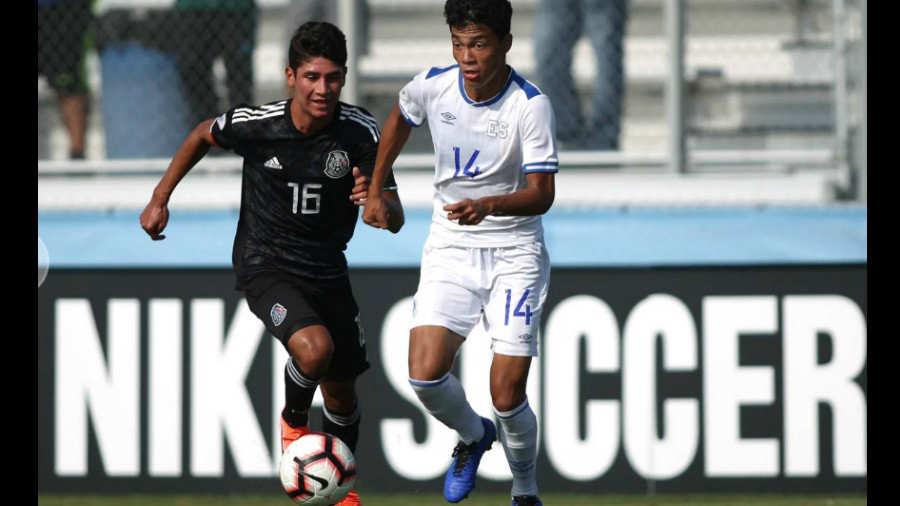 Sub17 Campeonato CONCACAF 2019 [Copa Mundo Brasil 2019] El Salvador 1 Mexico 5. Mexico-El-Salvador-Sub-17