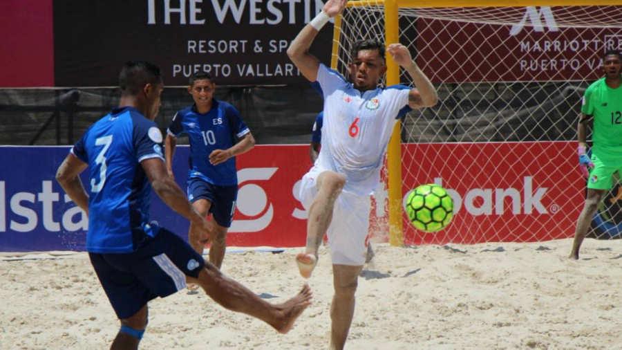 CONCACAF Campeonato de futbol playa 2019 - Terminamos en Tercer Lugar. Panam%C3%A1-El-Salvador-Fepafut-Futbol-Playa-02