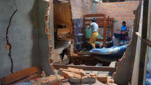 Familias de la selva amazónica del Perú afectadas por terremoto de 8 grados el domingo en la madrugada