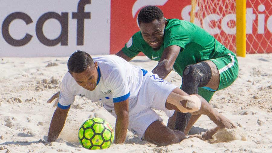 CONCACAF Campeonato de futbol playa 2019 - Juegos en el Grupo D. SELECTA-PLAYERA-EDH-DEPORTES-01