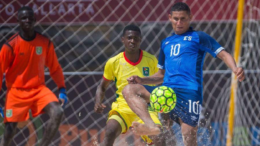 CONCACAF Campeonato de futbol playa 2019 - Juegos en el Grupo D. Selecta-Playera-Puerto-Vallarta-2019-Concacaf-02
