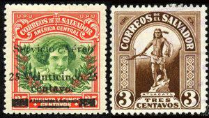 La singular colección de sellos postales que narra la historia de El Salvador
