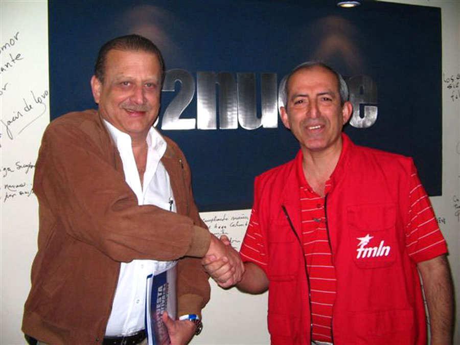 Julio Rank y Sigfrido Reyes en la radio 102 nueve.vida