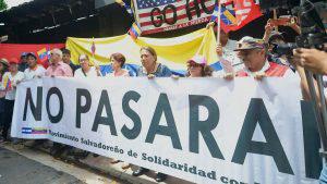 Dirigencia del FMLN apoya dictadura de Maduro y arremete contra los Estados Unidos