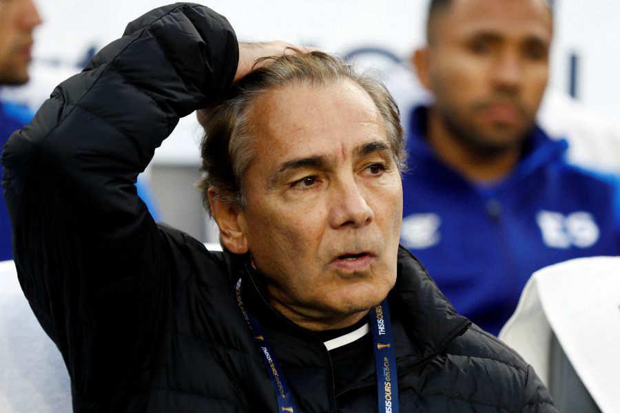 Copa Oro 2019: El Salvador 0 Honduras 4. Carlos-De-los-Cobos-El-Salvador