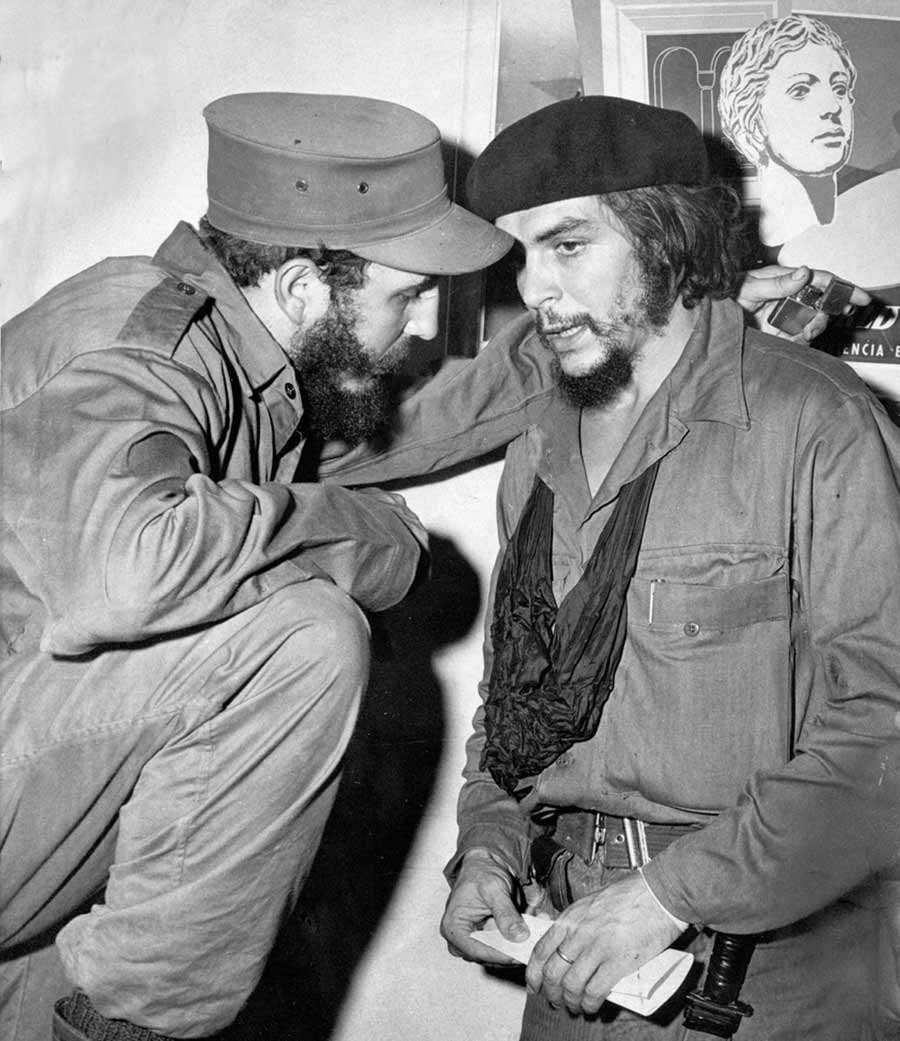 CASTRO CHE GUEVARA - 1959 FILE PHOTO